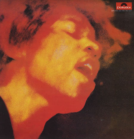 Jimi Hendrix's Electric Ladyland original Reprise release cover (front)