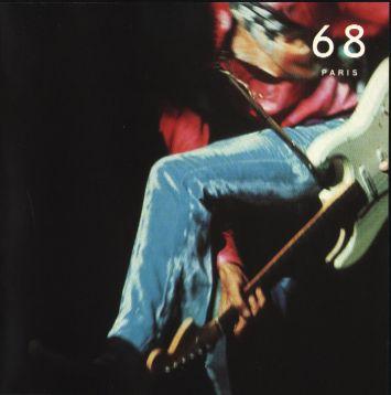 Jimi Hendrix Discography Paris 68 Disc